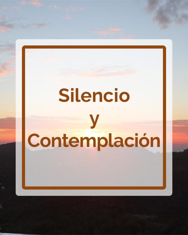 Silencio y Contemplación - Talleres - Betsaida